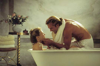 Couple in tub