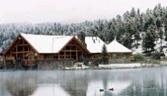 Lakeside Log-house